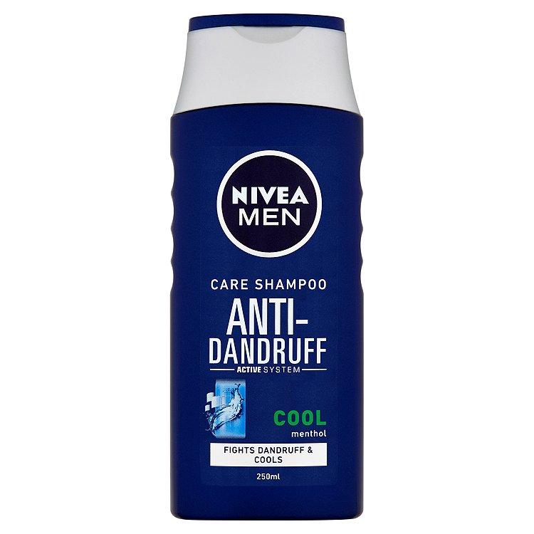 Fotografie Nivea Men Cool šampon proti lupům pro muže 250 ml