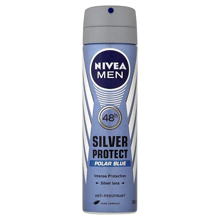 NIVEA MEN antiperspirant Silver Protect Polar Blue 150 ml