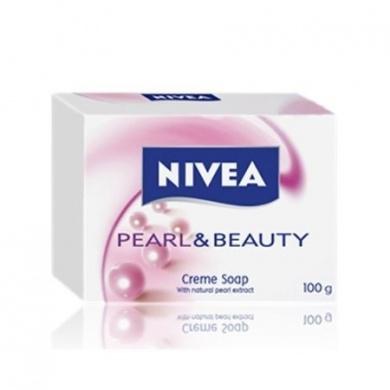 NIVEA Tuhé mýdlo Pearl Beauty 100 g