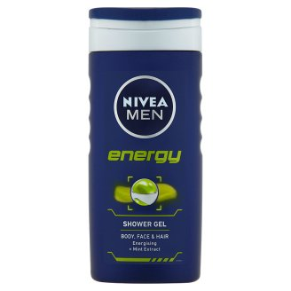 Fotografie NIVEA MEN Sprchový gel Energy 250 ml