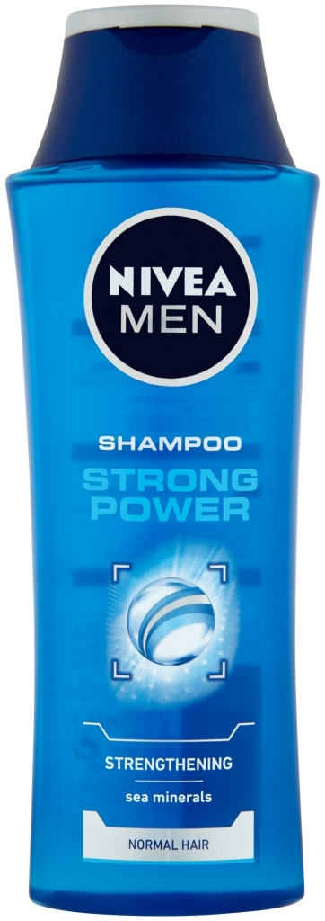 Fotografie NIVEA MEN Šampon Strong Power 250 ml
