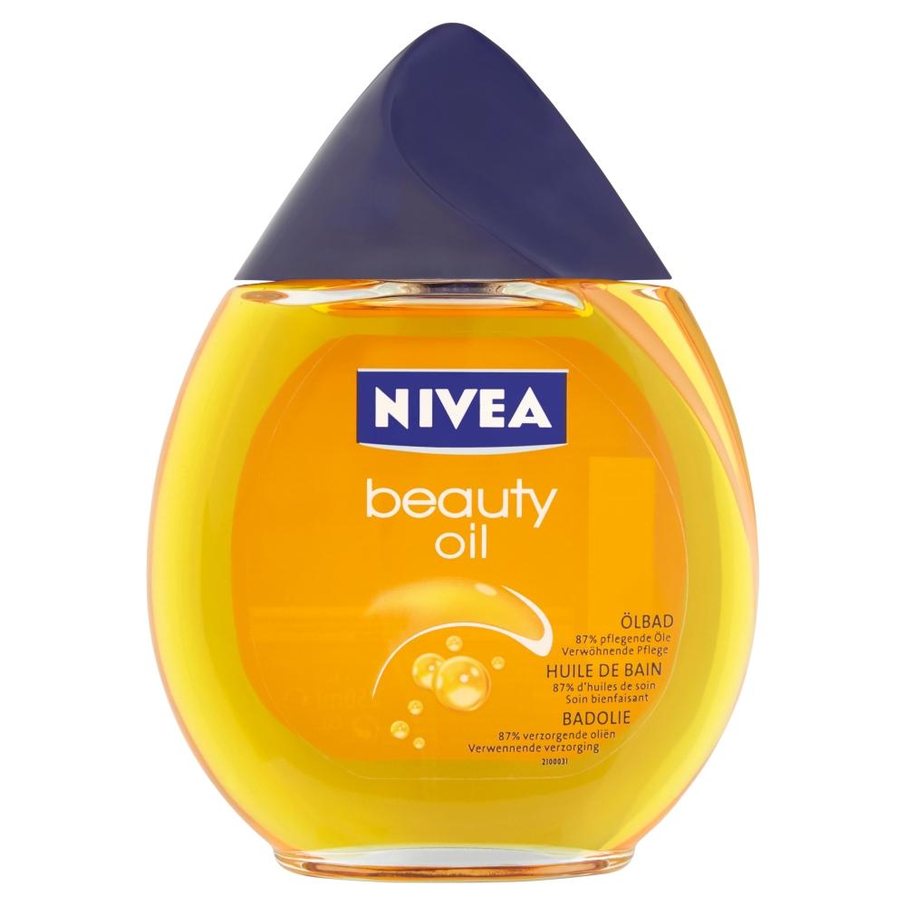 Fotografie NIVEA Beauty Oil olej do koupele 250 ml
