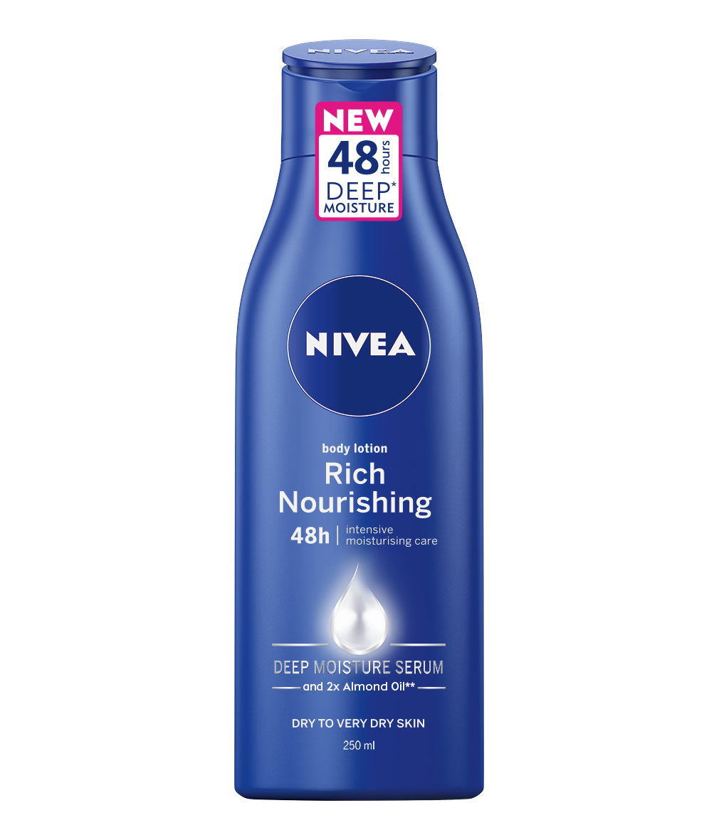 Nivea Body Milk výživné tělové mléko 250 ml