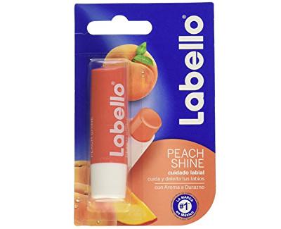 Labello Peach shine tónovací balzám na rty 4,8g 4,8 g