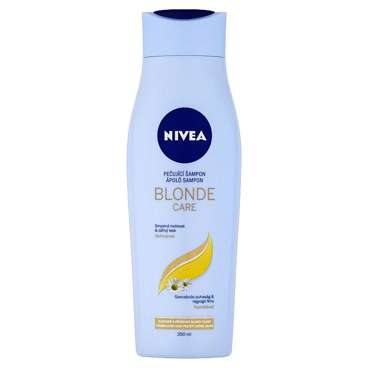 NIVEA Šampon Brilliant Blonde 250 ml