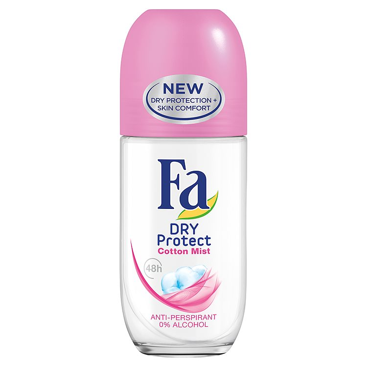 Fa roll-on Dry Power Cotton 50ml