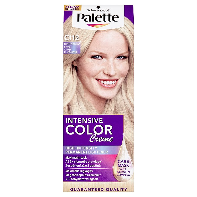 Schwarzkopf Palette Intensive Color Creme barva na vlasy Super Platinová Blond CI12