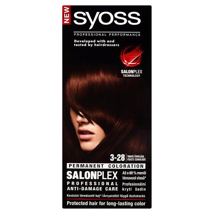 Syoss barva na vlasy Tmavá Čokoláda 3-28