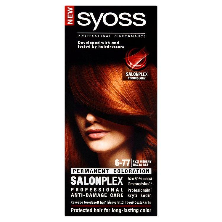 Syoss barva na vlasy Ryzí Měděný 6-77