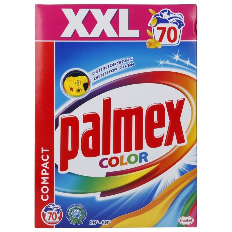 Palmex prací prášek color, 70 praní 5,25 kg