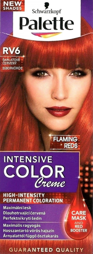 Schwarzkopf Palette Intensive Color Creme barva na vlasy RV6 Šarlatově  červený 6eb23b6147a