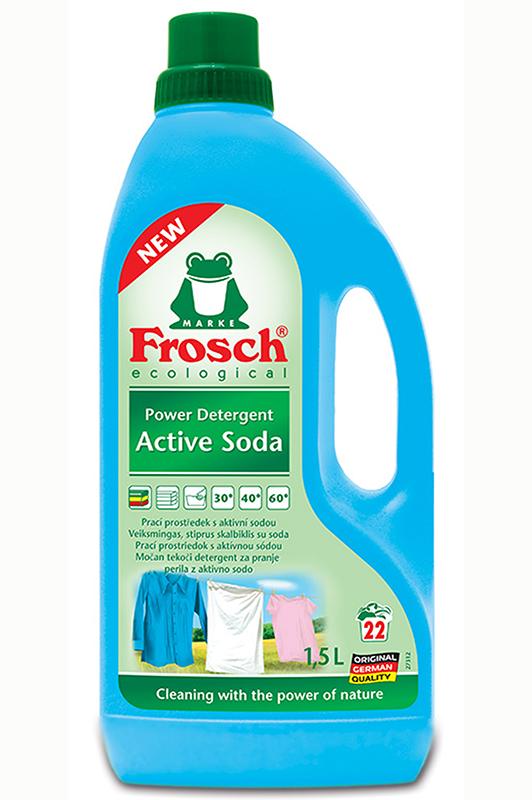 Frosch Eko prací prostředek s aktivní sodou 1,5 l