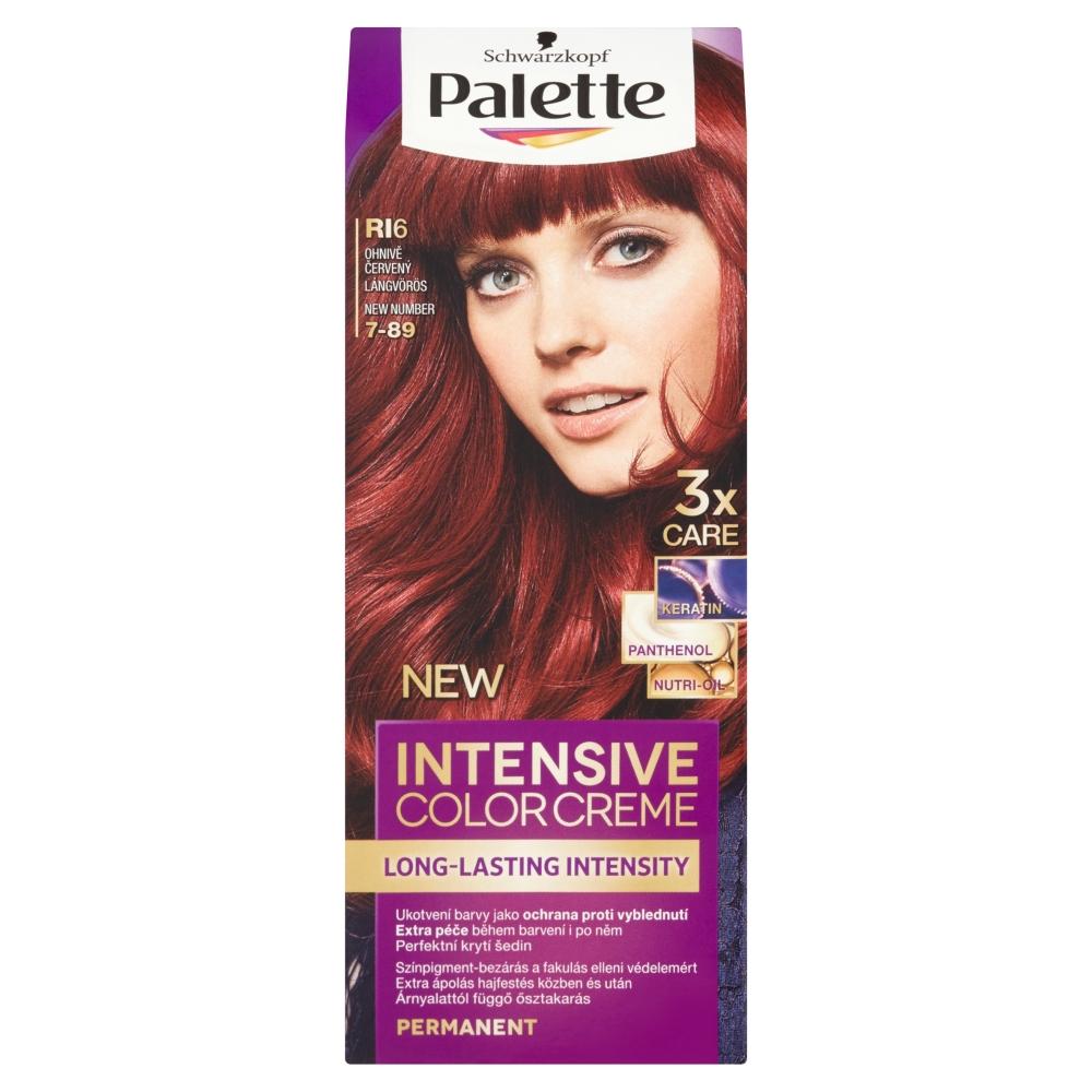 Schwarzkopf Palette Intensive Color Creme barva na vlasy odstín ohnivě červený RI6