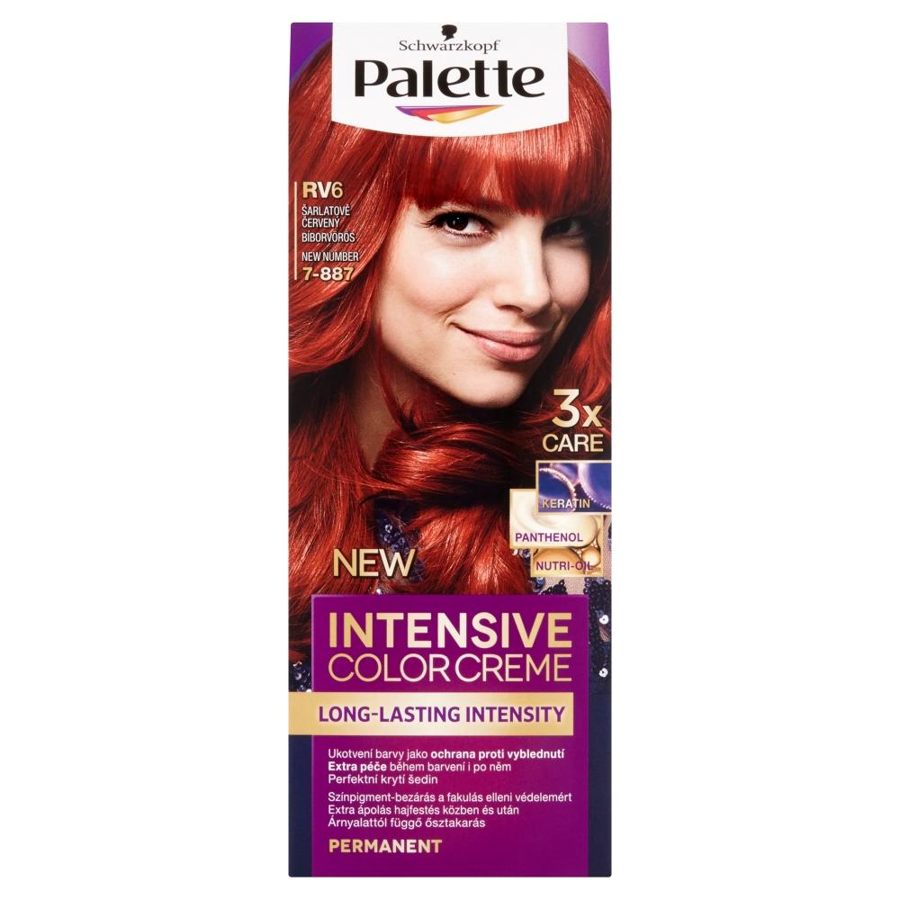 Schwarzkopf Palette Intensive Color Creme barva na vlasy odstín šarlatově červený RV6