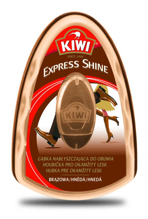 Kiwi expres houbička hnědá 6 ml 5187f2cedb