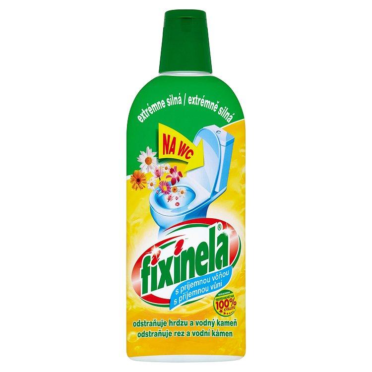 Fotografie Fixinela WC čisticí prostředek s vůní květin 500 ml