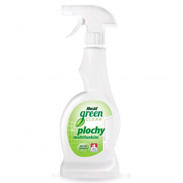 Fotografie REAL green clean plochy multifunkční čisticí prostředek 500 ml