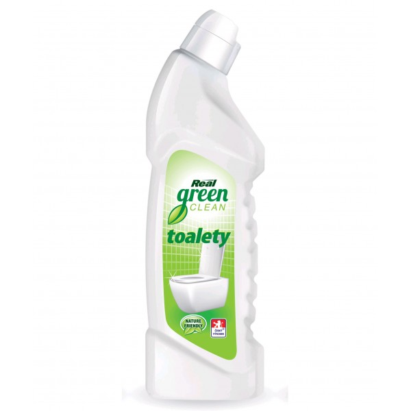 Fotografie Real Green Clean WC čistič 750 g