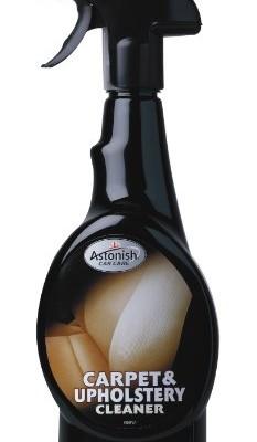 Astonish Carpet & Upholstery Cleaner - čistič čalounění 750 ml