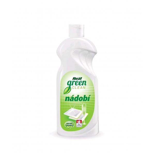 Fotografie Real Green Clean prostředek na nádobí 500 g