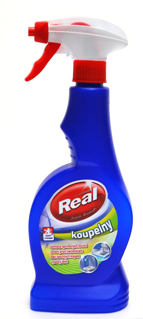 Fotografie Real koupelna, čisticí prostředek 550 g