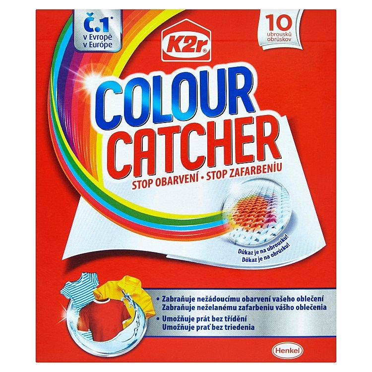 Fotografie K2r Colour Catcher prací ubrousky 10 ks