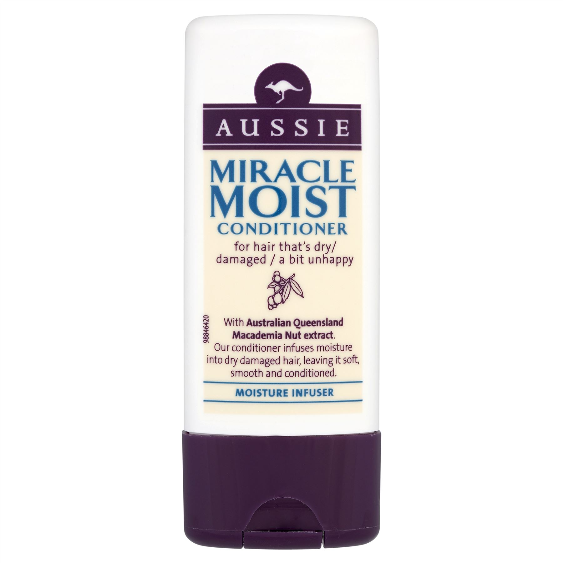 Fotografie Aussie Miracle Moist kondicionér 75 ml