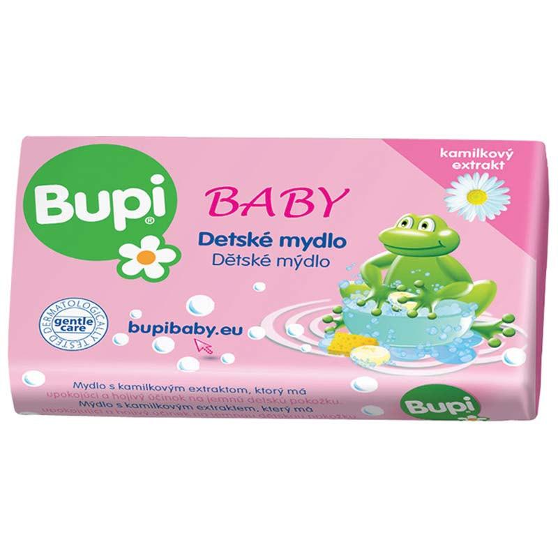 Fotografie Bupi Dětské mýdlo s heřmánkovým extraktem 100 g