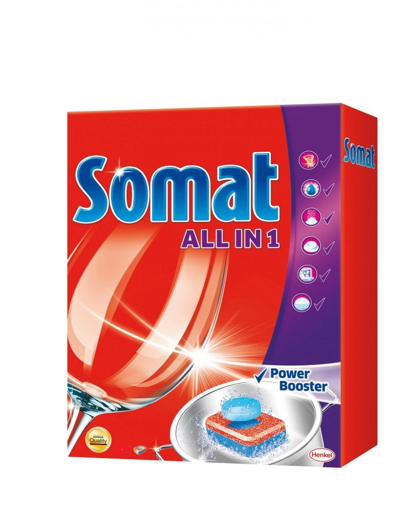 Somat All in One tablety do myčky nádobí 52 ks
