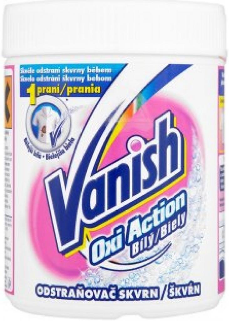 VANISH Oxi Action odstraňovač skvrn na bílé prádlo 665 g