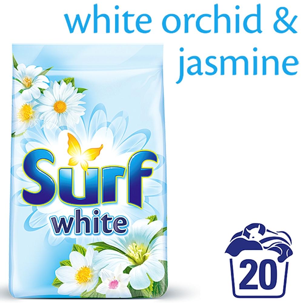 Surf White White Orchid & Jasmine prací prášek, 20 praní 1,4 kg