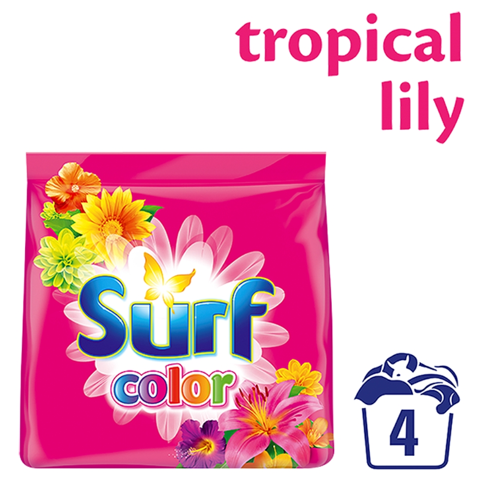 Surf Color prášek Tropical Lily & Ylang Ylang 4 praní 0,28 kg