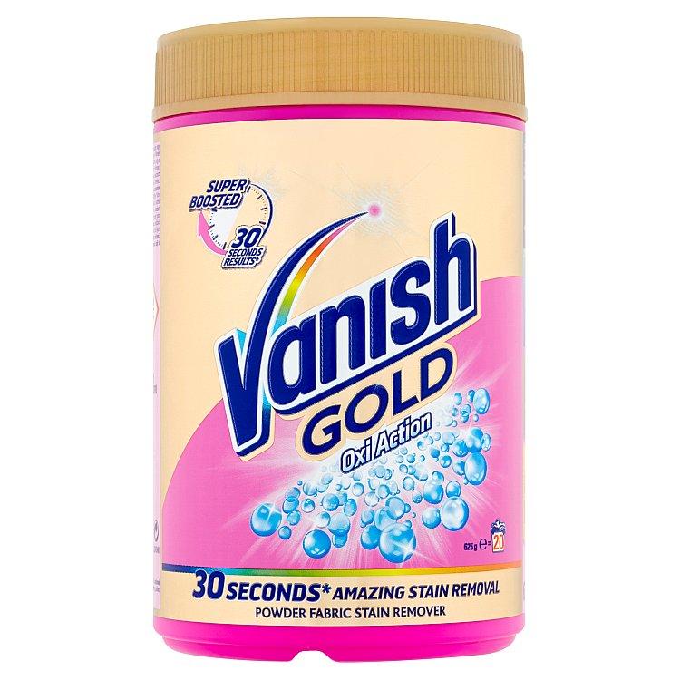 Vanish Oxi Action Gold odstraňovač skvrn, 20 praní 625 g