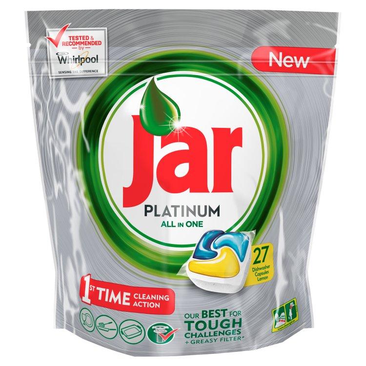 Jar Platinum Citron kapsle do myčky 27 ks