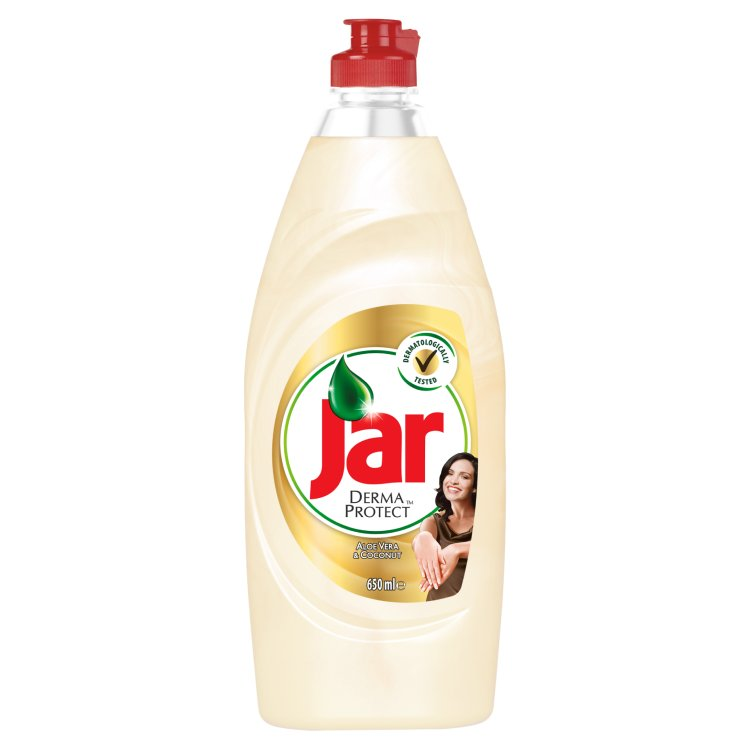 Jar Dermaprotect Aloe Vera & Coconut prostředek na nádobí 650 ml