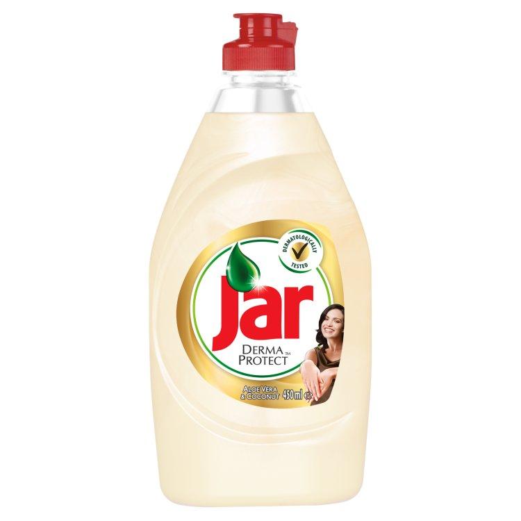 Jar Dermaprotect Aloe Vera & Coconut prostředek na nádobí 450 ml