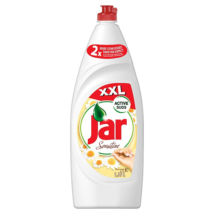 Jar Sensitive Prostředek Na Mytí Nádobí Chamomile & Vit E 1350 ml