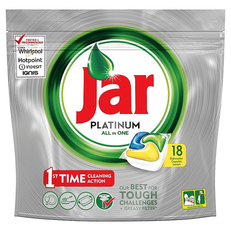 Jar Platinum Kapsle Do Automatické Myčky Nádobí Lemon 90 Ks