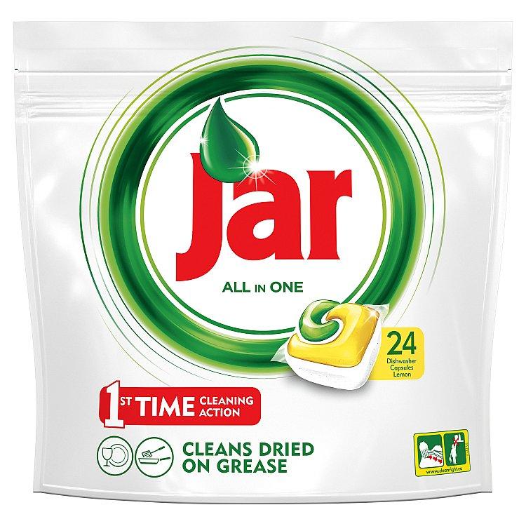 Jar All in 1 Citron kapsle do myčky 24 ks