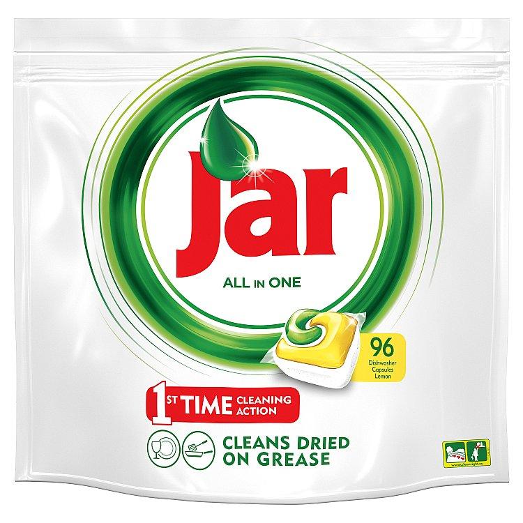 Jar All in 1 Citron kapsle do myčky 96 ks