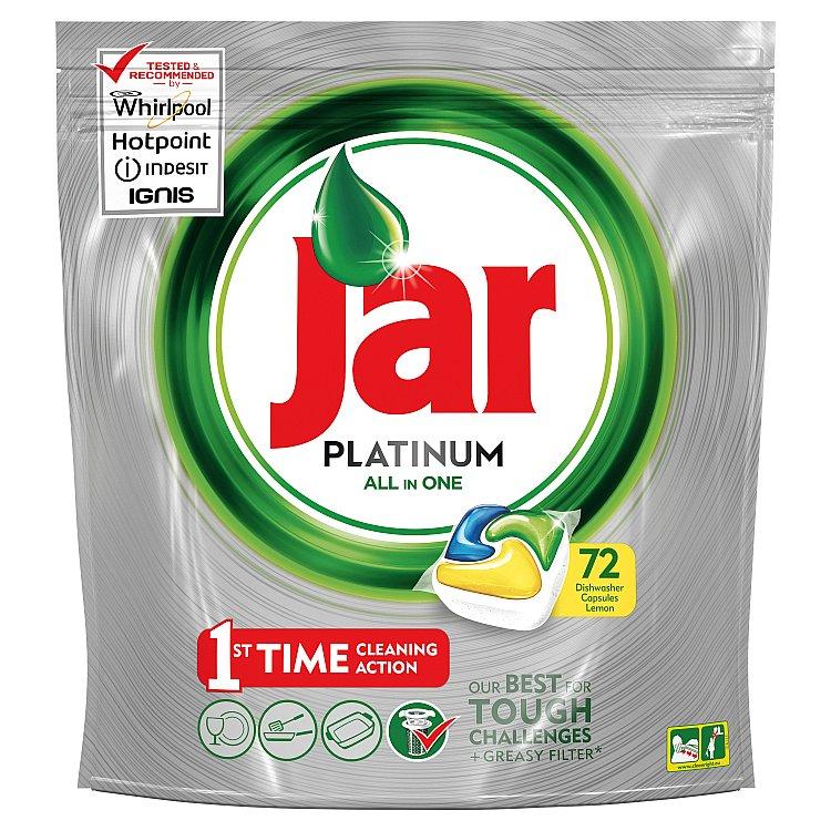 Jar Platinum Citron kapsle do myčky 72 ks