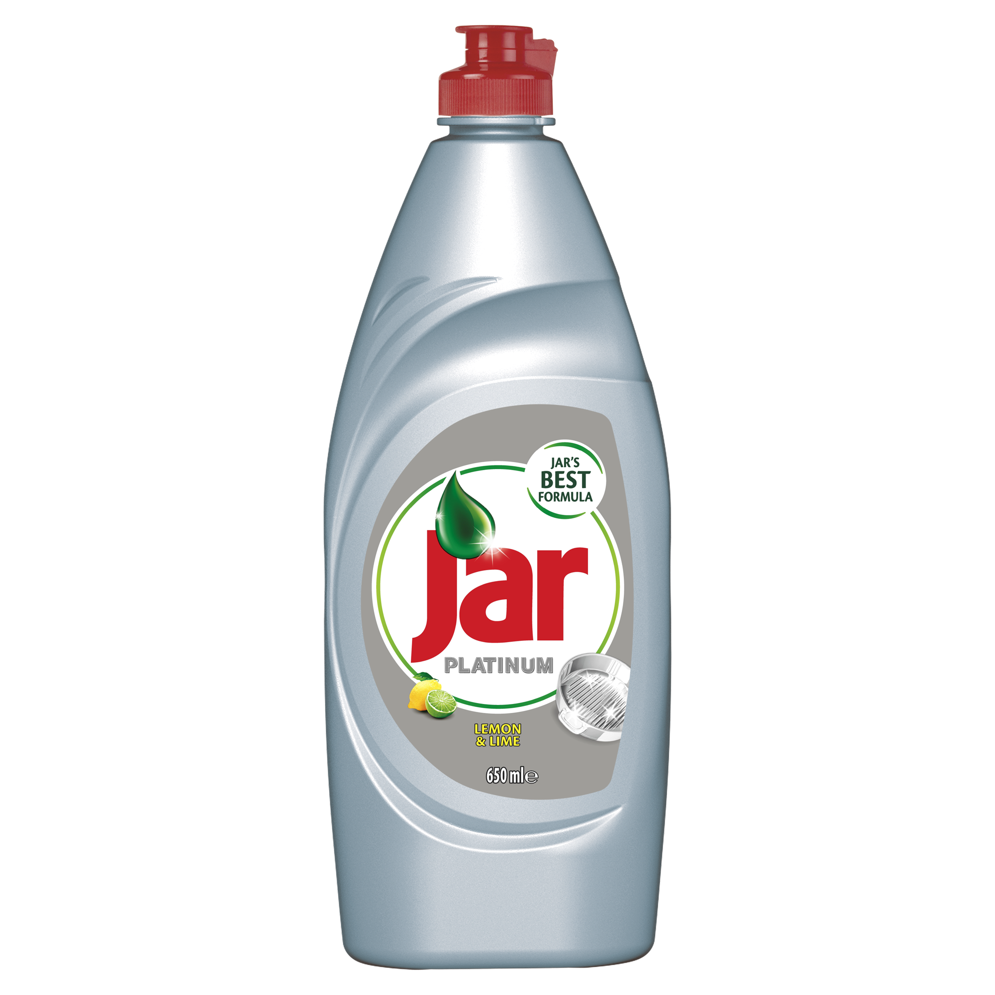 Jar Platinum Lemon & Lime prostředek na nádobí 650 ml