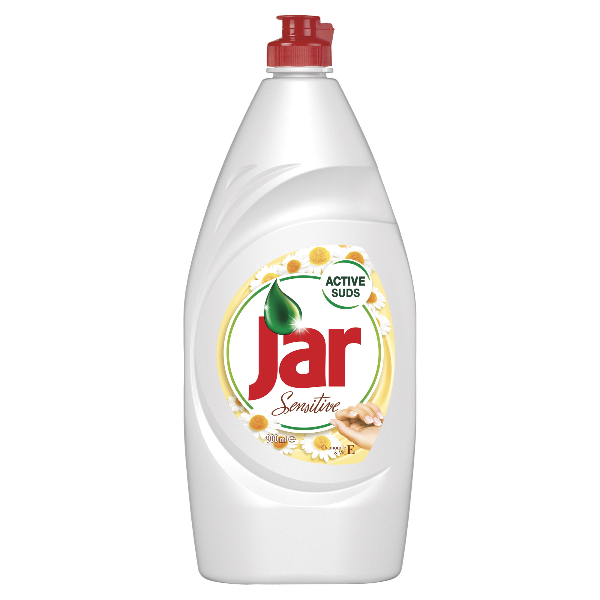 Jar Sensitive Heřmánek & Vitamin E na nádobí 900 ml