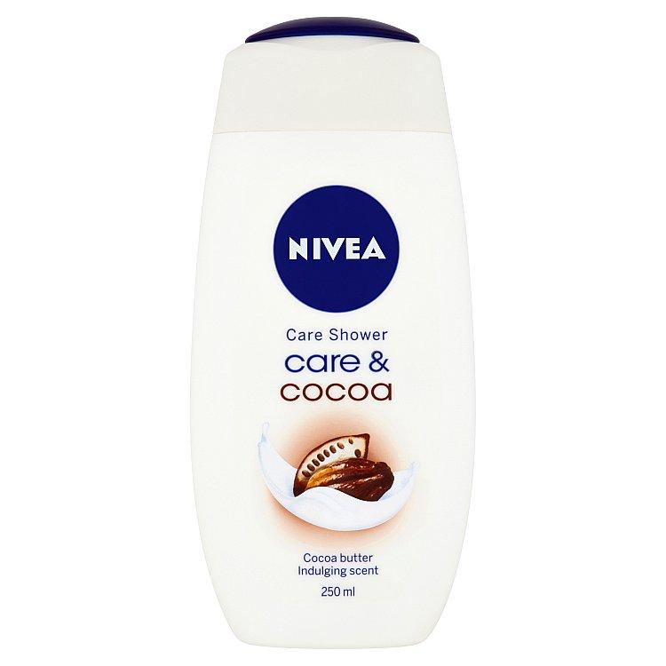 Nivea Care & Cocoa pečující sprchový gel 250 ml