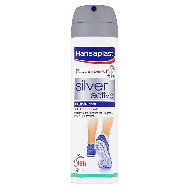 Hansaplast Silver Active sprej na nohy 150 ml