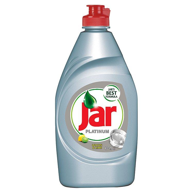 Jar Platinum Lemon & Lime prostředek na nádobí 430 ml
