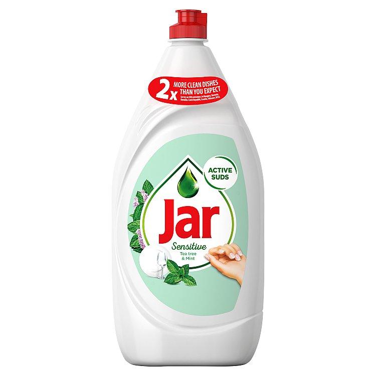Jar Sensitive Tea Tree & Mint prostředek na nádobí 1350 ml