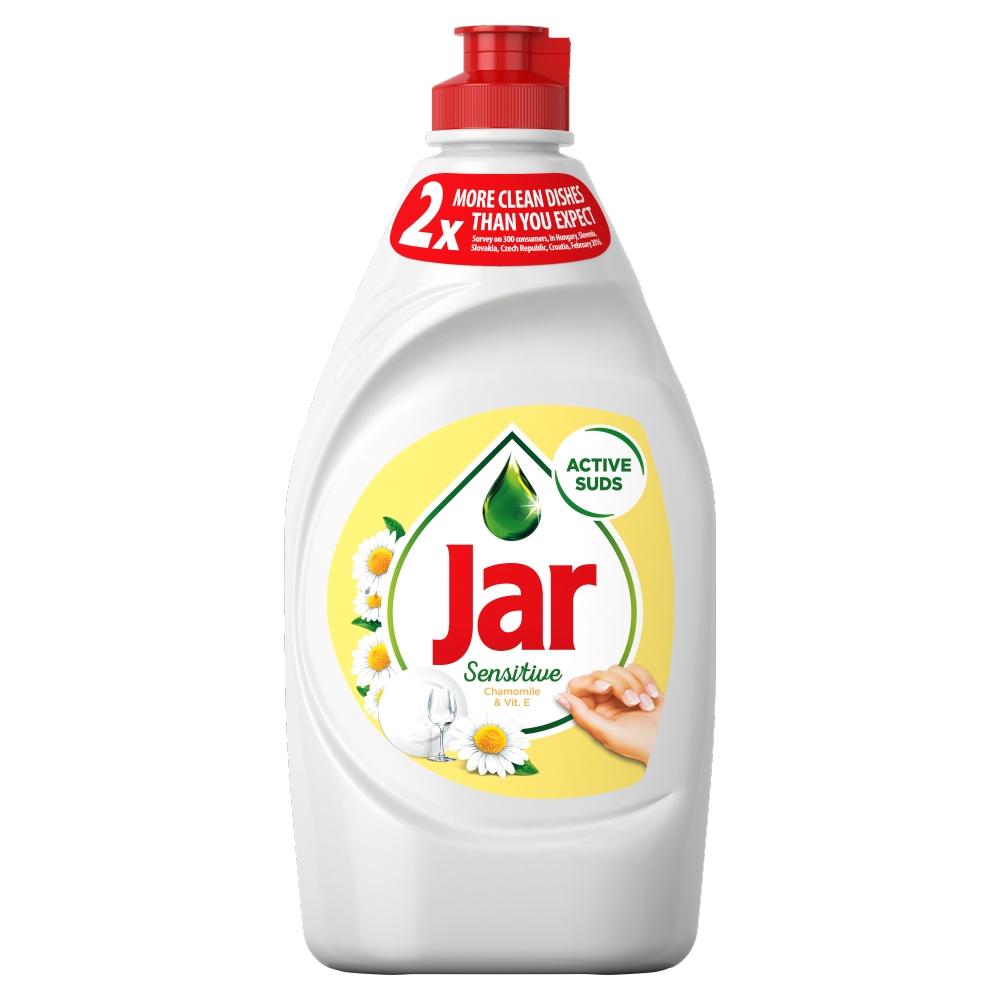 Jar Sensitive Heřmánek & Vitamin E prostředek na ruční mytí nádobí 450 ml