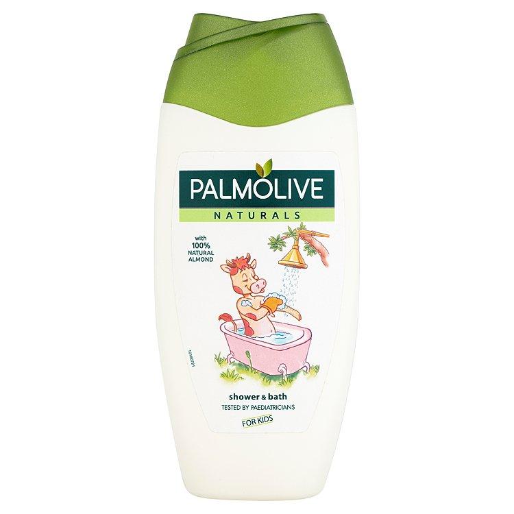 Fotografie Palmolive Naturals For Kids 2v1 sprchový gel a pěna do koupele 250 ml 1 kus