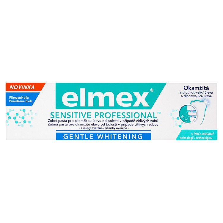elmex Sensitive Professional Gentle Whitening zubní pasta 75ml